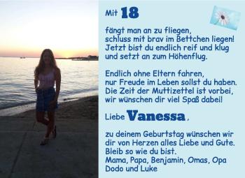 Anzeige Vanessa