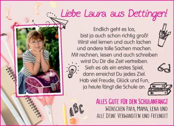 Anzeige Laura