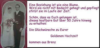 Anzeige Ruth + Günter Maurer