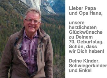 Anzeige Hans Bosch
