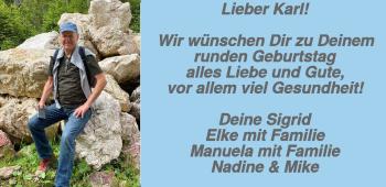 Anzeige Karl Rinagl