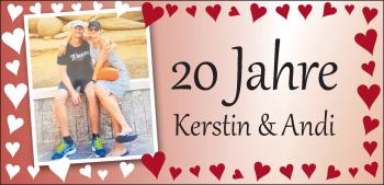 Anzeige Kerstin & Andi