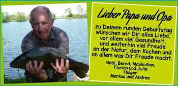 Anzeige Dieter Allmoslöchner