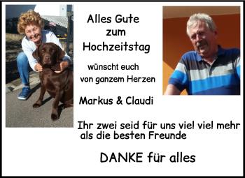 Anzeige Poldi und Horst
