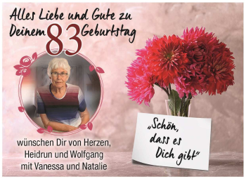 Anzeige Elsbeth