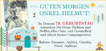 Anzeige Helmut