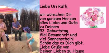 Anzeige Ruth Eberhardt