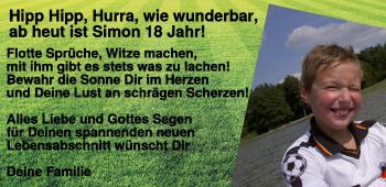 Anzeige Simon Denk