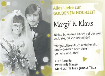 Anzeige Margit